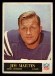 1965 Philadelphia #190   Jim Martin  Front Thumbnail