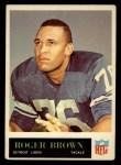 1965 Philadelphia #59   Roger Brown Front Thumbnail
