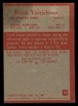 1965 Philadelphia #96   Frank Varrichione Back Thumbnail