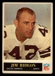 1965 Philadelphia #54  Jim Ridlon  Front Thumbnail