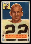 1956 Topps #33   Ken Konz Front Thumbnail