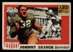 1955 #52  John Lujack  Front Thumbnail