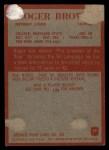 1965 Philadelphia #59   Roger Brown Back Thumbnail