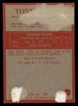 1965 Philadelphia #6   Tony Lorick    Back Thumbnail
