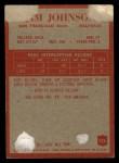 1965 Philadelphia #176   Jim Johnson Back Thumbnail
