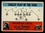 1965 Philadelphia #140   Eagles   -  Joe Kuharich Front Thumbnail