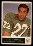 1965 Philadelphia #130  Tim Brown  Front Thumbnail
