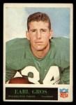 1965 Philadelphia #133  Earl Gros   Front Thumbnail