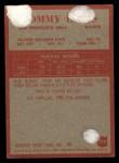 1965 Philadelphia #174  Tommy Davis   Back Thumbnail