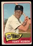 1965 Topps #65   Tony Kubek Front Thumbnail