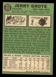 1967 Topps #413   Jerry Grote Back Thumbnail