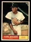 1961 Topps #69   Earl Wilson Front Thumbnail