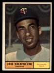1961 Topps #557  Jose Valdivielso  Front Thumbnail