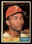 1961 Topps #93  Tony Gonzalez  Front Thumbnail