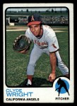 1973 Topps #373  Clyde Wright  Front Thumbnail