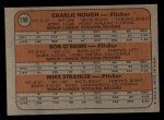 1972 Topps #198  Dodgers Rookies    -  Charlie Hough / Bob O'Brien / Mike Strahler Back Thumbnail