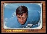 1966 Topps #51   Ode Burrell Front Thumbnail