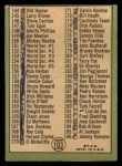 1967 Topps #103 B Checklist 2  -  Mickey Mantle Back Thumbnail