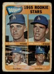 1965 Topps #561   -  Mike Kekich / Jim LeFebvre / Hector Valle / Dennis Daboll Dodgers Rookies Front Thumbnail