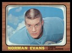 1966 Topps #77   Norm Evans Front Thumbnail
