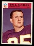 1966 Philadelphia #109  Paul Flatley  Front Thumbnail