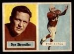 1957 Topps #38   Don Stonesifer Front Thumbnail