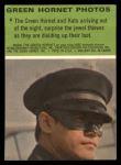1966 Donruss Green Hornet #6  Surprising jewel thieves  Back Thumbnail