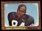 1966 Topps #116   Art Powell Front Thumbnail