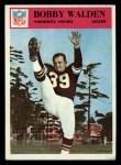 1966 Philadelphia #116  Bobby Walden  Front Thumbnail