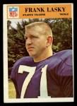 1966 Philadelphia #8  Frank Lasky  Front Thumbnail
