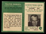 1966 Philadelphia #48   Walter Robert Back Thumbnail