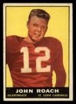 1961 Topps #114  John Roach  Front Thumbnail