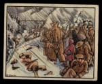 1938 Gum Inc. Horrors of War #142  Fleeing Loyalists Freeze in Mountains  Front Thumbnail