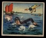 1938 Gum Inc. Horrors of War #270  Jap Machine-Gunners Pursue Swimming Airman  Front Thumbnail