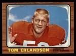 1966 Topps #76   Tom Erlandson Front Thumbnail