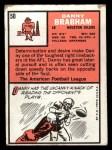 1966 Topps #50   Danny Brabham Back Thumbnail