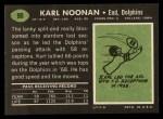 1969 Topps #90   Karl Noonan Back Thumbnail