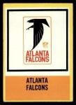 1967 Philadelphia #12   Atlanta Falcons Logo Front Thumbnail