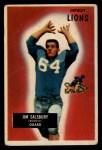 1955 Bowman #128   Jim Salsbury Front Thumbnail