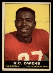 1961 Topps #61   Owens  Front Thumbnail