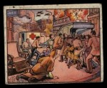 1938 Gum Inc. Horrors of War #141   Populace Streams Underground to Avoid Bombs Front Thumbnail