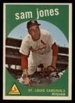 1959 Topps #75  Sam Jones  Front Thumbnail
