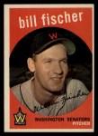 1959 Topps #230   Bill Fischer Front Thumbnail