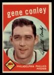 1959 Topps #492   Gene Conley Front Thumbnail