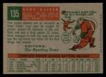1959 Topps #135   Gene Oliver Back Thumbnail