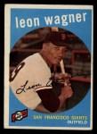 1959 Topps #257   Leon Wagner Front Thumbnail