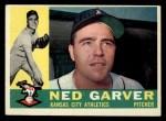 1960 Topps #471  Ned Garver  Front Thumbnail