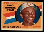 1960 Topps #119  Rookie Stars  -  Leo 'Chico' Cardenas Front Thumbnail