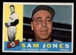 1960 Topps #410   Sam Jones Front Thumbnail