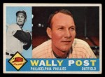 1960 Topps #13  Wally Post  Front Thumbnail